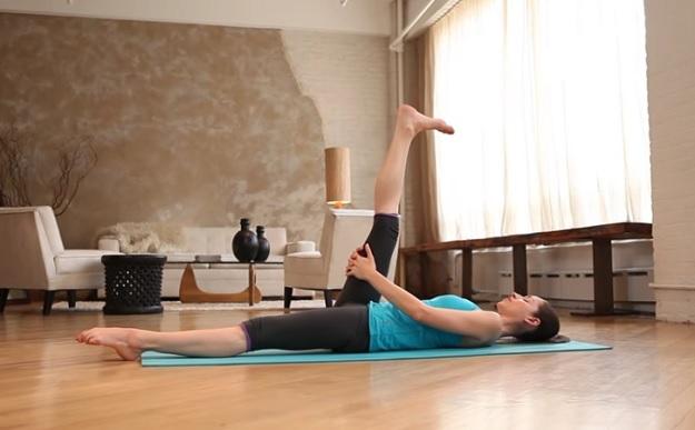 Quick core yoga video