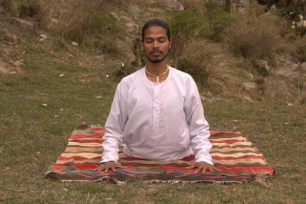 Classic yoga poses - cobra pose