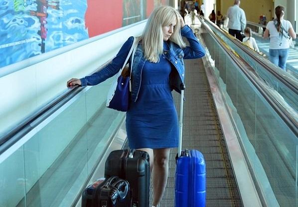 Airport yoga