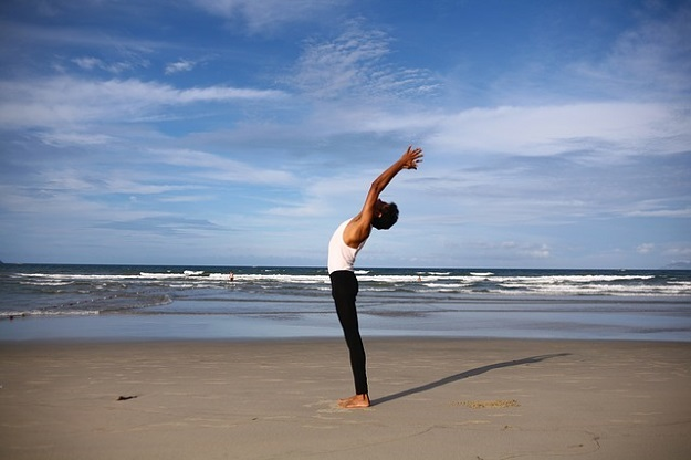 Yoga poses for travel