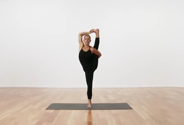 Pose Of The Week Sundial Pose Advanced My Yoga Zone