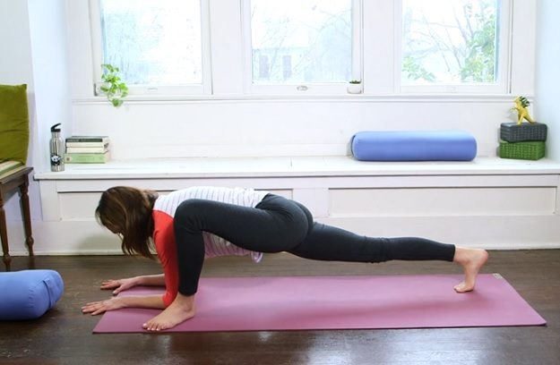 Lizard Pose yoga pose