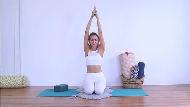 Kundalini yoga workout video