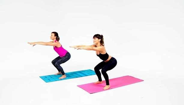 HIIT yoga workout