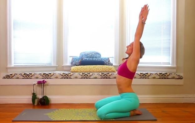 Beginner morning yoga workout for energy
