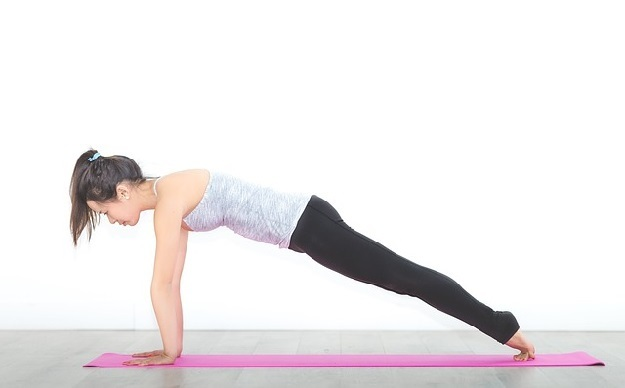 How to do yoga plank pose beginner poses