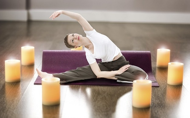 Rejuvenating winter yoga sequence