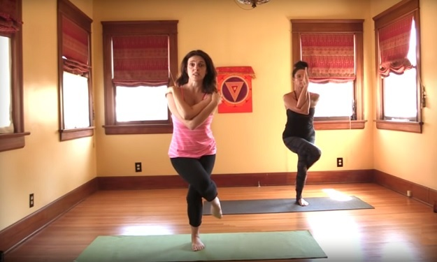 Weekly Workout At Home Bikram Yoga Class For Beginners My Yoga Zone