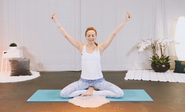 Kundalini yoga workout video for beginners