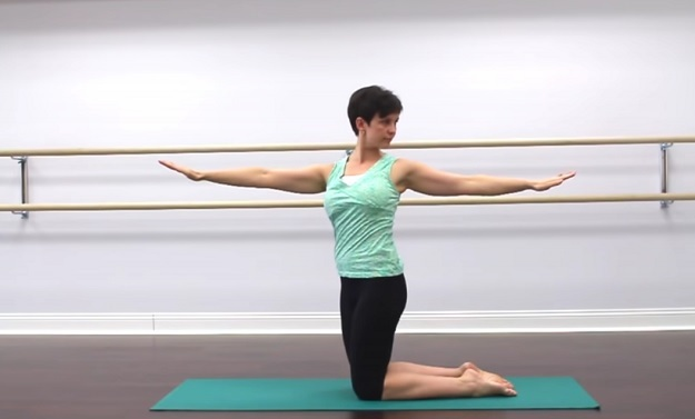 Therapeutic yoga practice video for hip pain