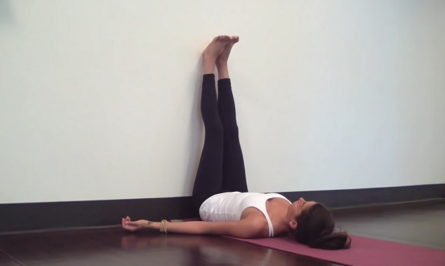 Legs-Up-the-Wall pose yoga poses