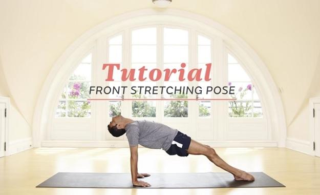 Upward Plank Pose tutorial video