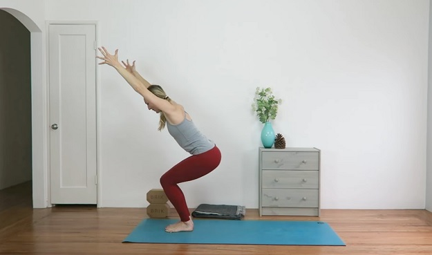 Yoga for knee strength video class