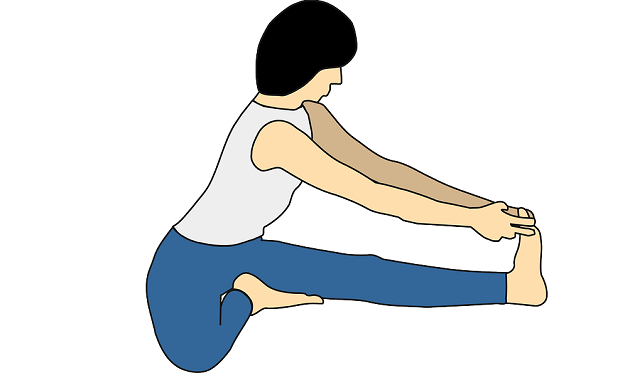 Head-to-knee pose yoga tutorial