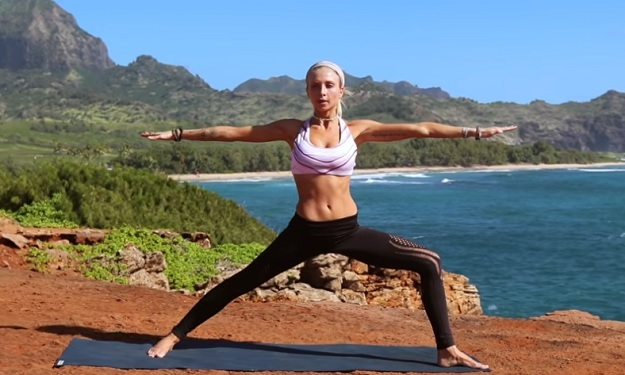 Fire Yoga Workout video
