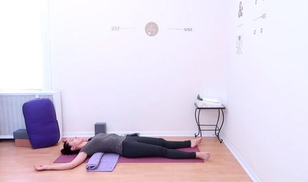 Restorative yoga for spring video