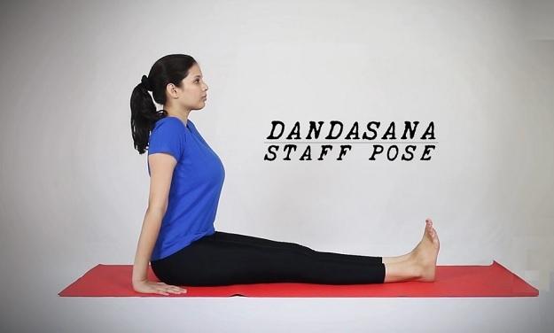 Staff pose tutorial