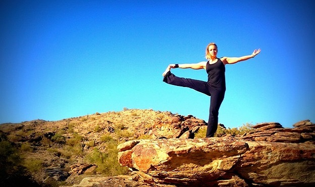 Standing Hand-to-Big-Toe Pose yoga