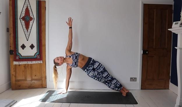 Yoga for arm & shoulder strength building video