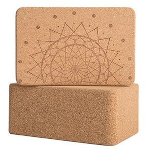 Peace Yoga Cork Yoga Blocks