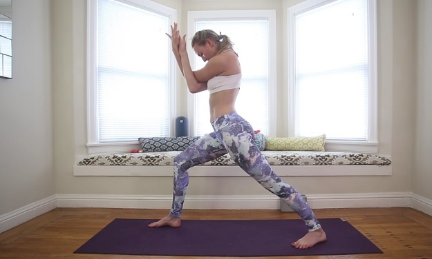 Throat Chakra yoga video