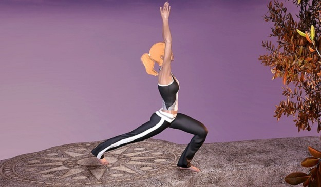 Crescent Lunge Pose yoga tutorial