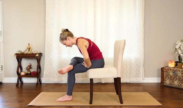 Chair yoga poses you can do in a chair