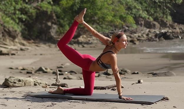 Pilates-Yoga fusion class video