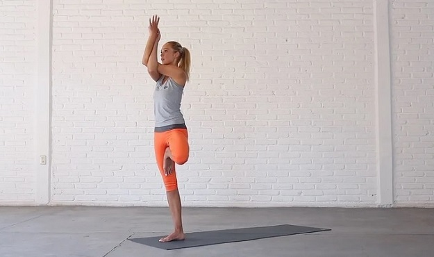 Yoga balance poses for stability