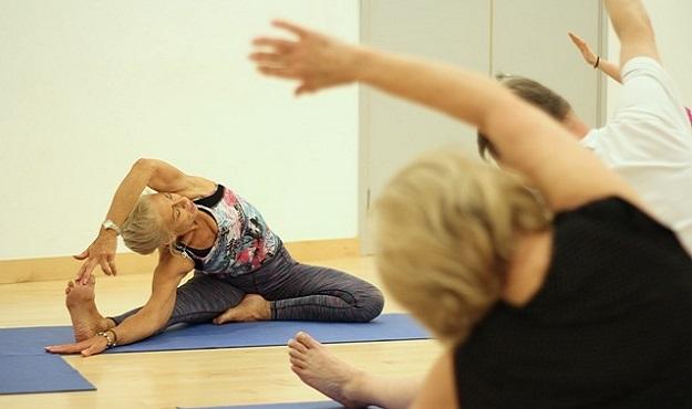 Health benefits of yoga for seniors