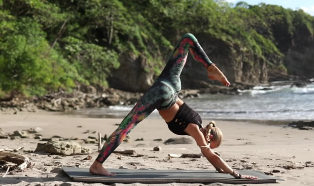 Deep stretch yoga for legs & hips video