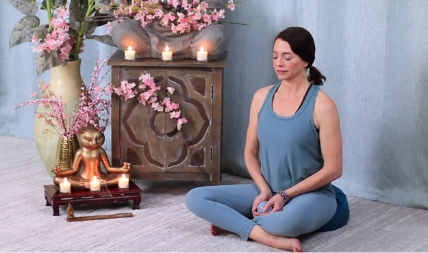 Guided meditation yoga video
