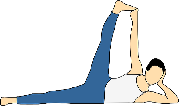 Side-Reclining Leg Lift Pose tutorial