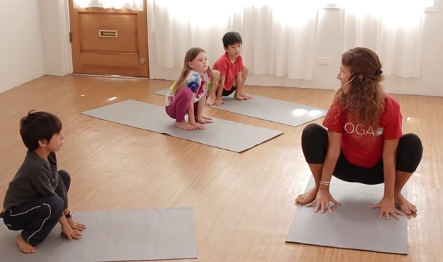 Yoga for Kids workout video