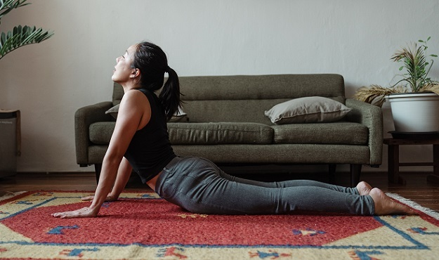 Yoga poses for PMS