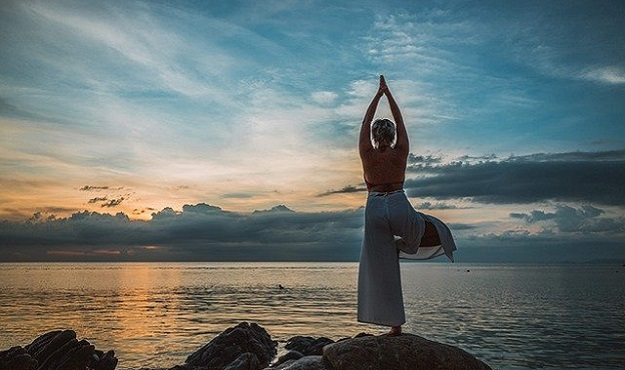 Yang yoga poses for morning