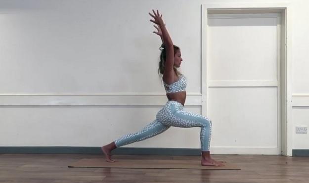 Yin-Yang yoga class