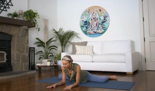 Yin-Yang yoga flow video
