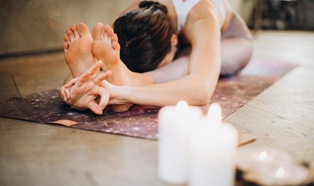 Yin Yoga poses to do at night