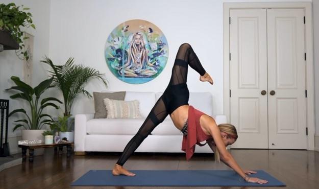 20-minute yoga flow