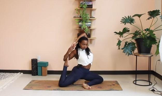 Divine goddess flow video