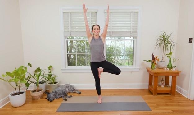 12-Minute brain power yoga flow video