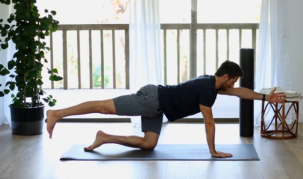 20-Minute yoga for back pain video