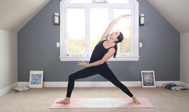 Navel chakra yoga class video