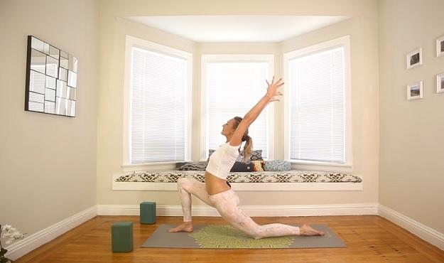 Sacral chakra flow yoga video
