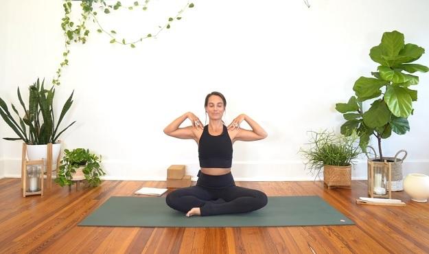 Chakra balancing yoga flow video