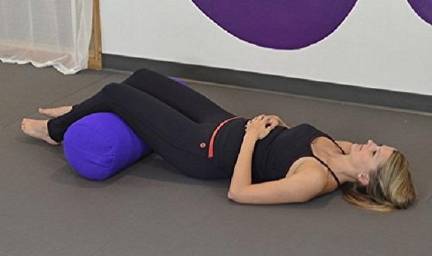 Yoga bolster uses