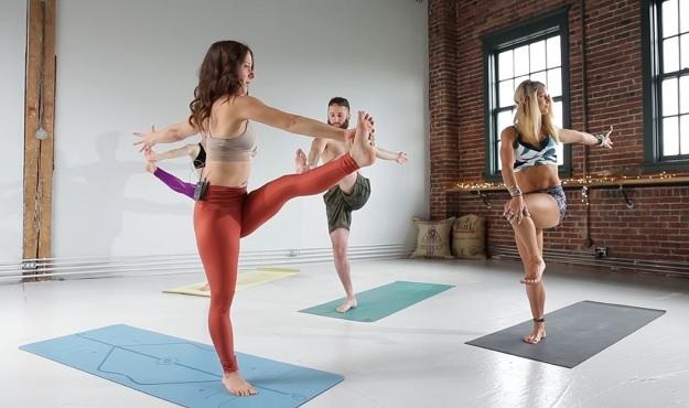 Prana yoga flow video